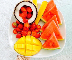 fruit, food, and mango image