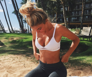 fitness, fit, and summer image