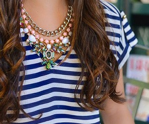colourful, fashion, and necklace image