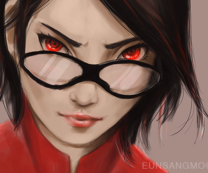 anime, sarada, and sarada uchiha image