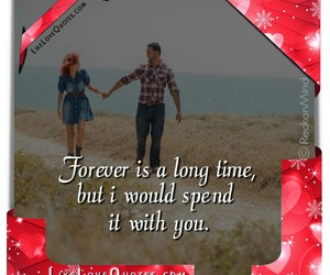forever, long, and quotes image