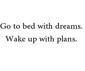 dreams, plans, and quote image