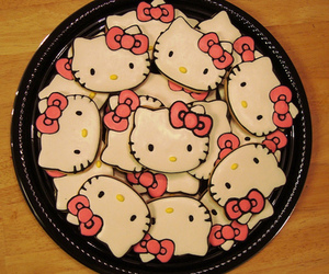hello kitty, cute, and Cookies image
