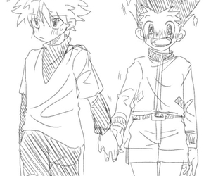 hunter x hunter, killugon, and yaoi image