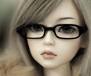 doll and glasses image
