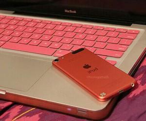 ipod, pink, and apple image