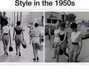 style, 1950s, and fashion image