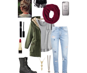 jacket, jeans, and outfits image