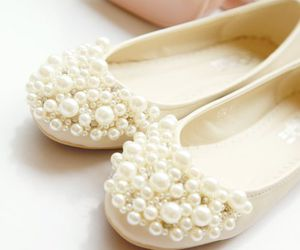 fashion, shoes, and pearl image