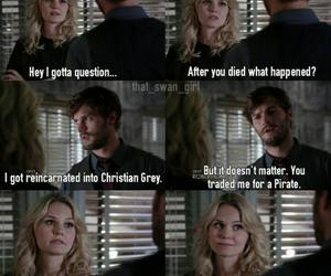 funny, emma, and once upon a time image