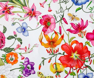 beautiful, flowers, and gucci image