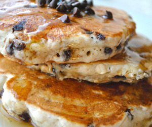 pancakes, yummy, and food image
