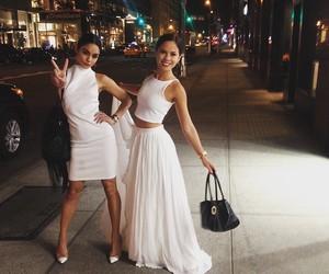 vanessa hudgens, dress, and white image