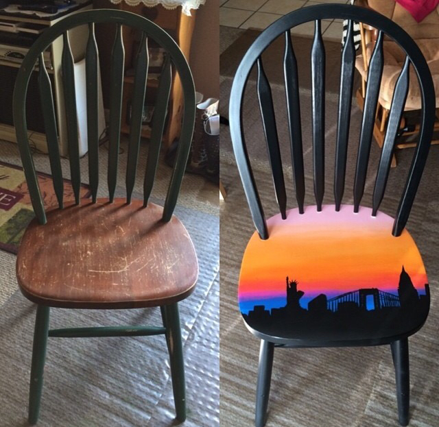 chair, decor, and diy image