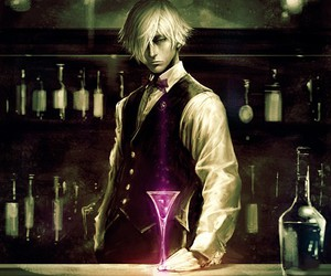 anime, death parade, and decim image