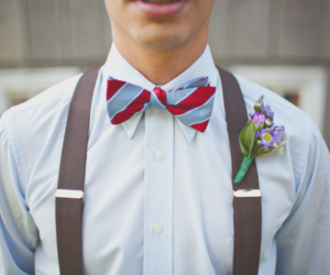 fashion, guy, and flowers image
