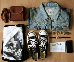 fashion, converse, and style image