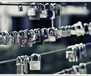 lock, heart, and love image