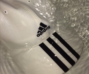 adidas, contrast, and black image