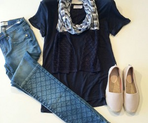 outfit, casual, and chic image