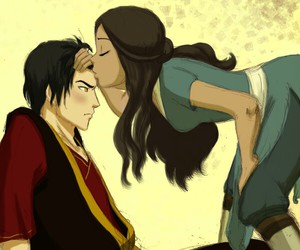 avatar, zuko, and katara image