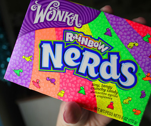 nerds, candy, and wonka image