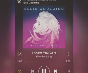 Ellie Goulding, music, and single image