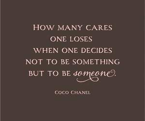 quote and coco chanel image