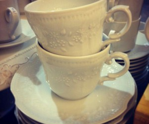 blanco, cup, and Porcelana image