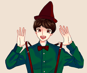 fanart, d.o, and mid image