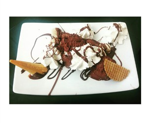 chocolate, cool, and food image