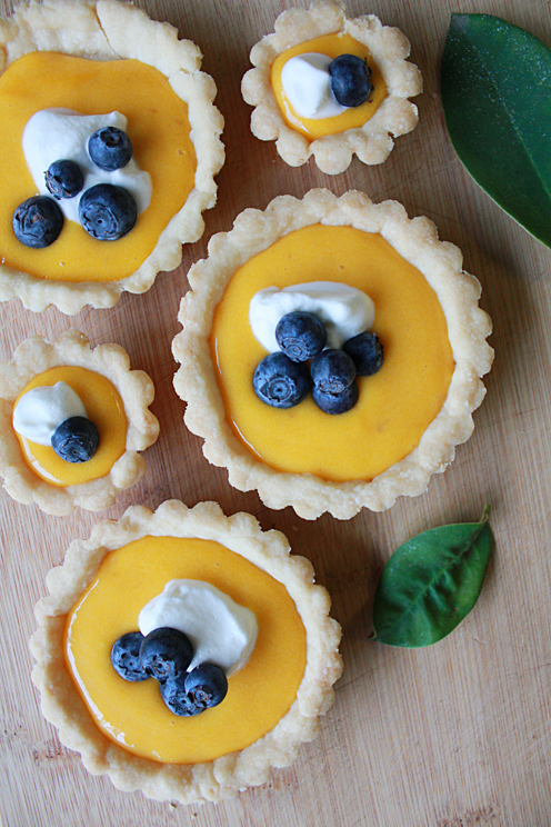 blueberry, curd, and mango image