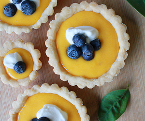 blueberry, crust, and curd image