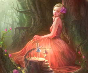 fairy, art, and fantasy image