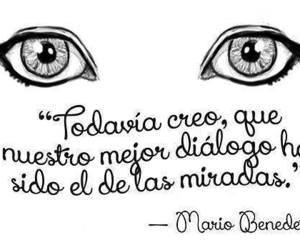love, eyes, and look image