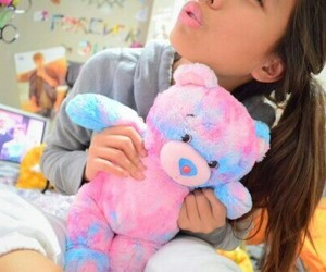 cotton candy, teddy bear, and tumblr image