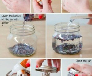 diy, tutorial, and glitter image