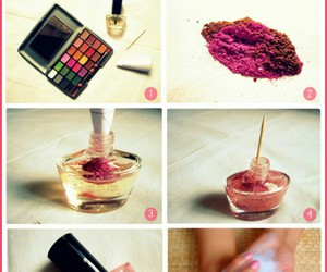 diy, nail, and polish image