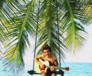 photoshop, one direction, and tropical image