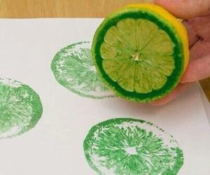 diy, lemon, and green image