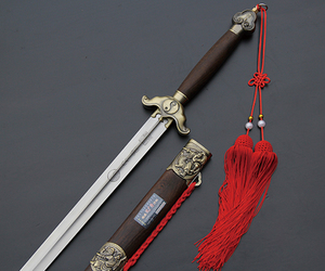 tai chi sword, chinese sword, and chinese vintage sword image