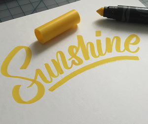 sunshine and yellow image
