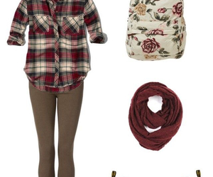 browns, maroon, and outfit image