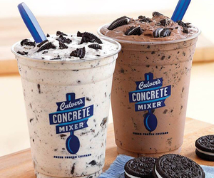 oreo, drink, and food image