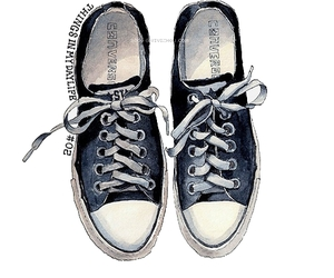 all star, converse, and drawing image