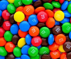 sweet, chocolate, and m&m image