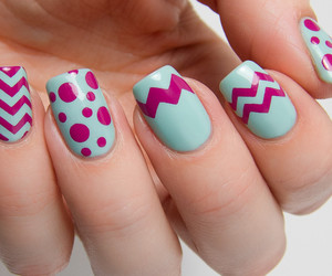 dots, holiday, and nails image