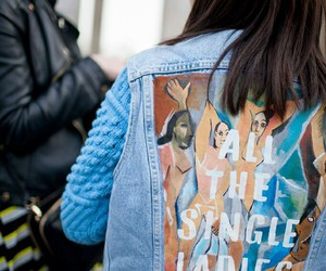 fashion, jeans, and art image