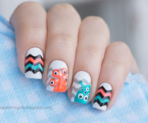 nails, holiday, and monster image
