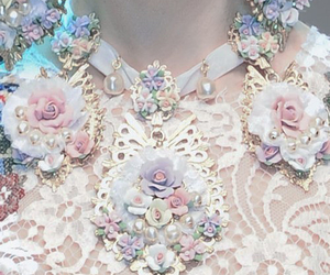 fashion, flowers, and pastel image